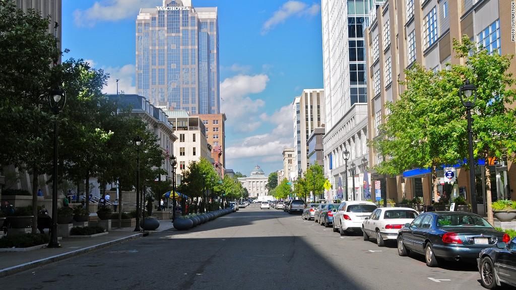 Raleigh N C 10 Fastest Growing Cities Cnnmoney