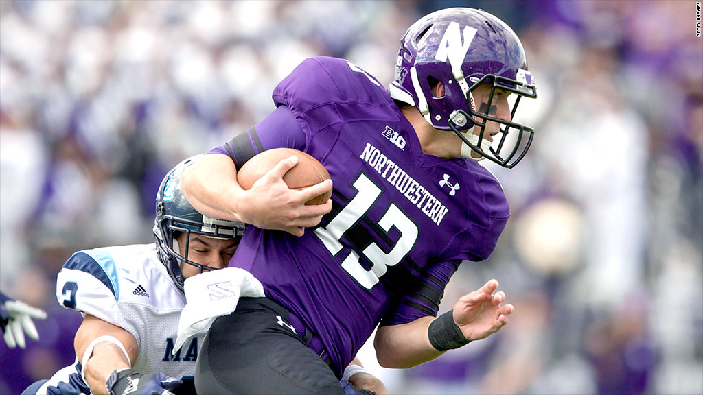 northwestern football