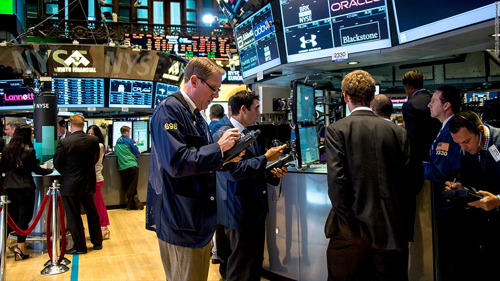 Market darlings lead the dive