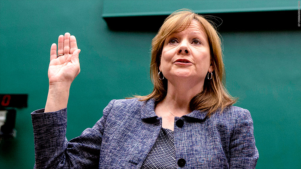 mary barra hearing quote