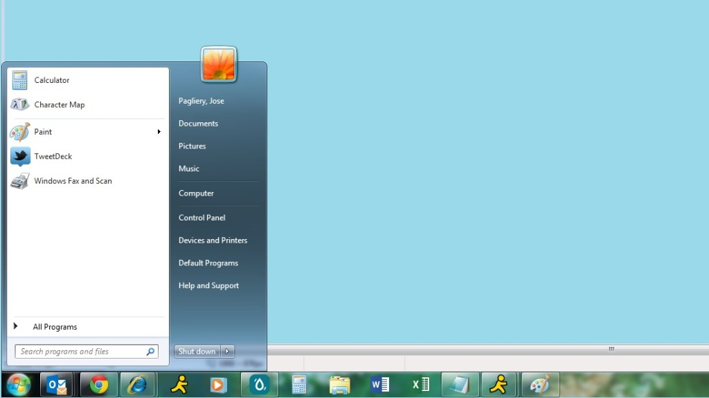 microsoft start menu
