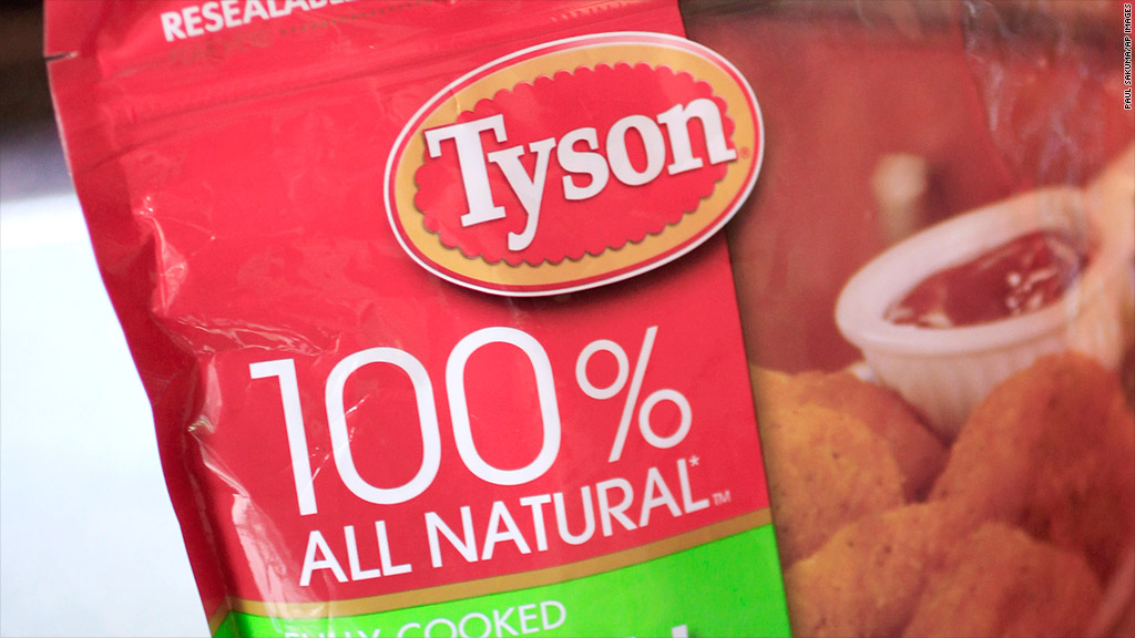 tyson nuggets recall