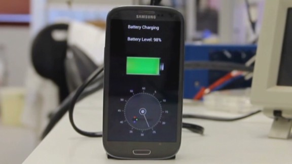How to charge your cell phone battery in less than a minute