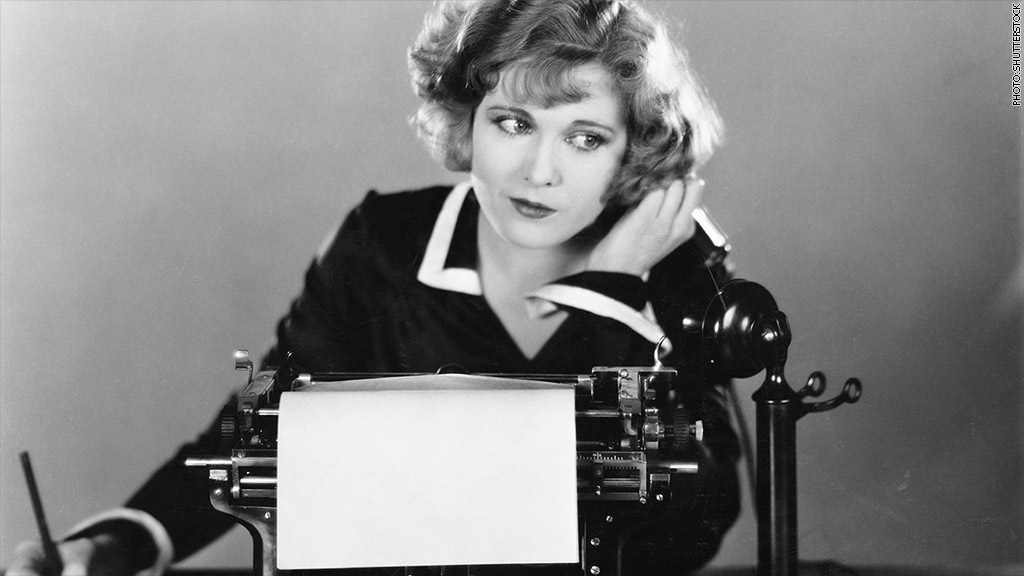 1940s woman desk job
