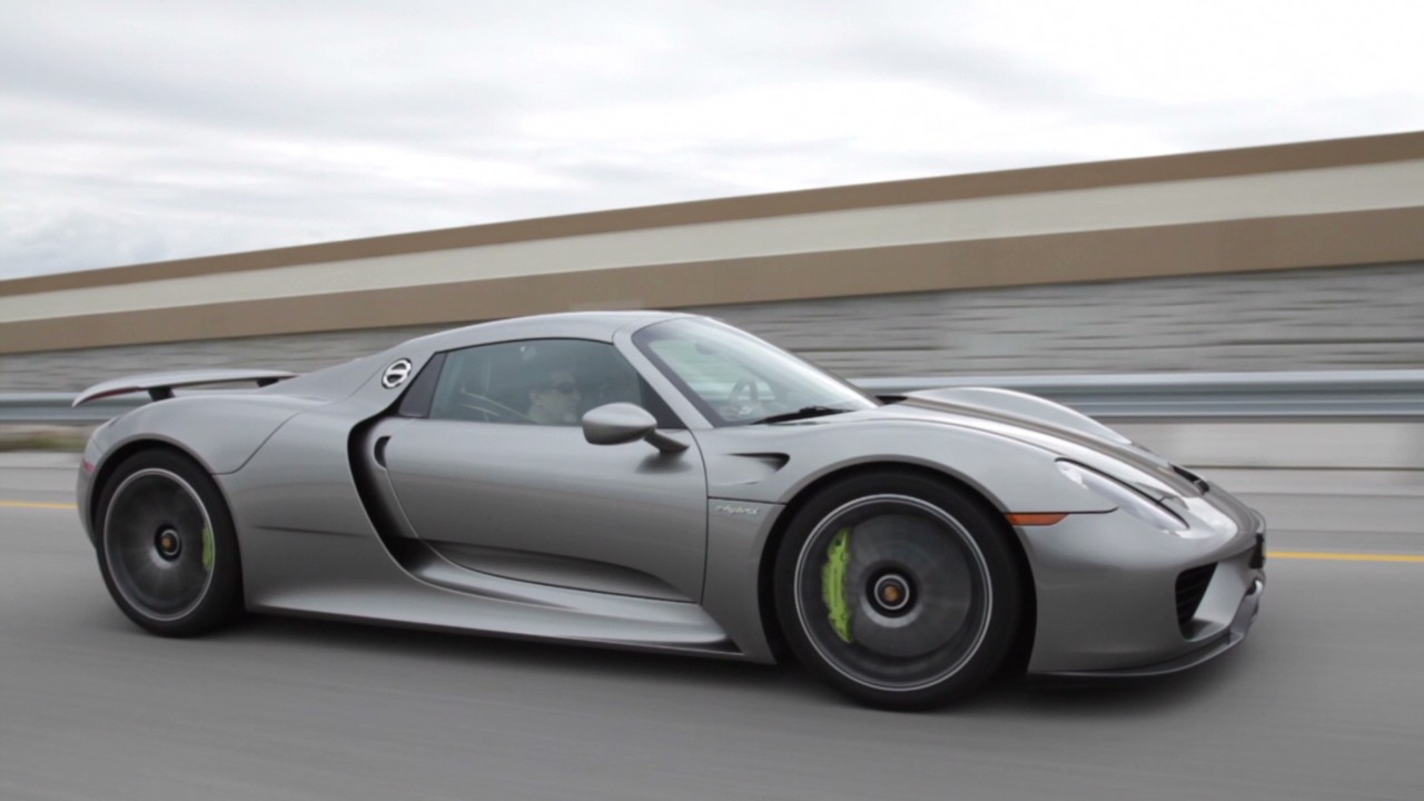 Driving An 845 000 Porsche Plug In Hybrid Video