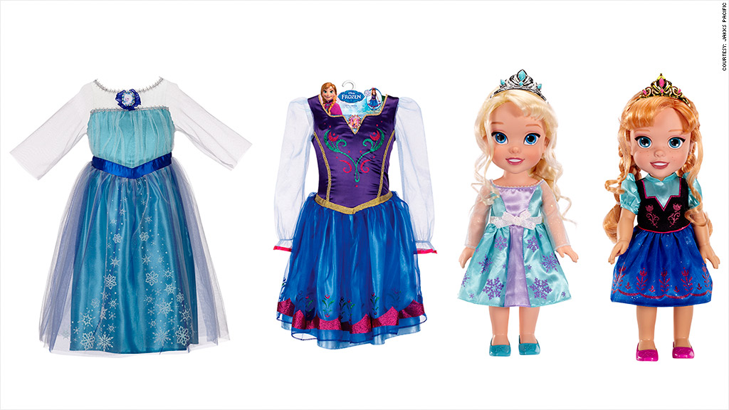 frozen dresses