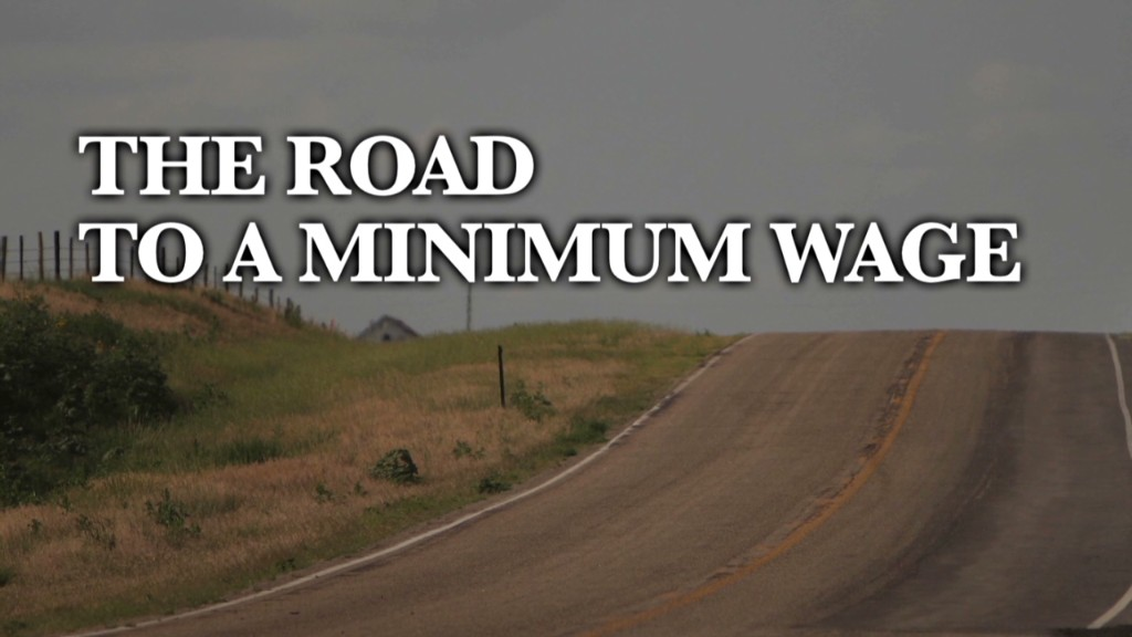 The road to a minimum wage
