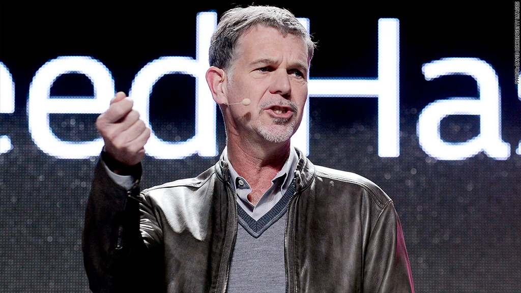 reed hastings earnings