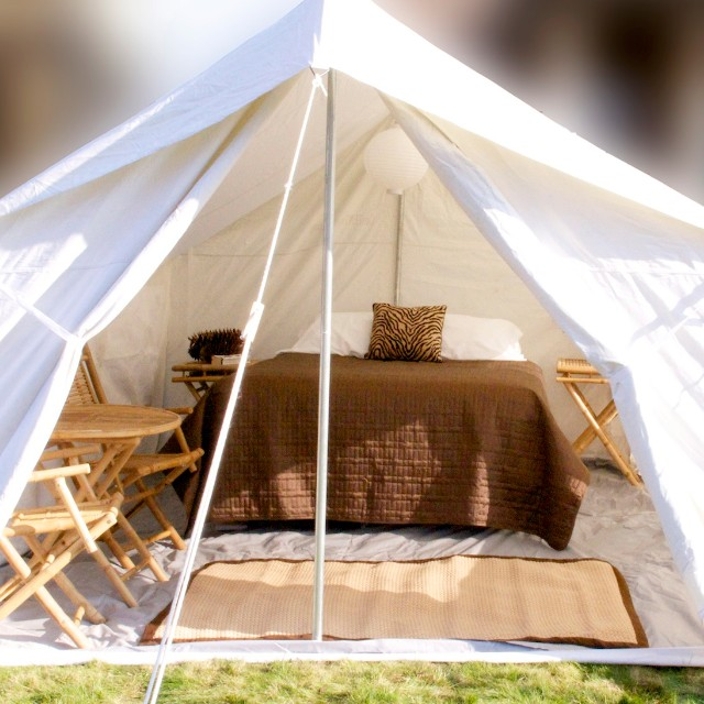 Glamping' in style