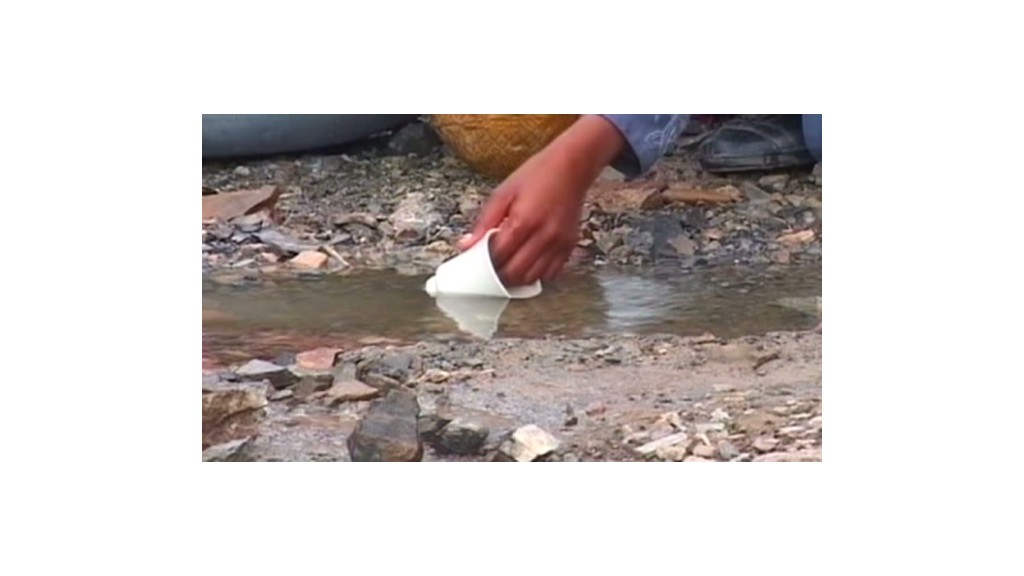 $50 turns ditch water into drinking water