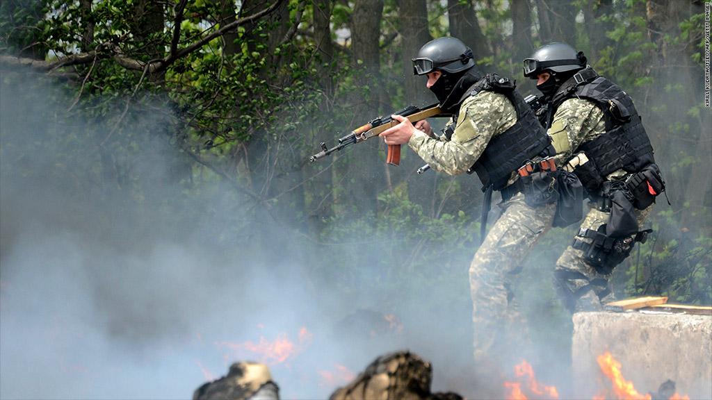 ukraine russia clash