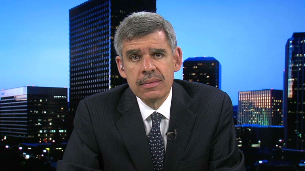 El-Erian fears 'global recession'