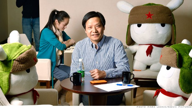 China's smartphone trailblazer looks abroad