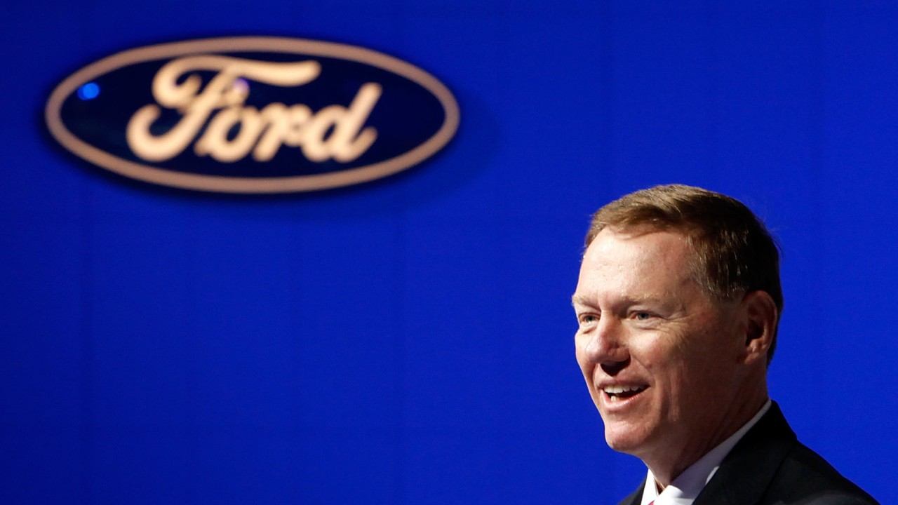 How alan mulally turned ford around video business news for Ford motor company pension calculator