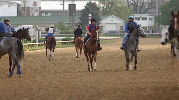 How the 1% roll at the Kentucky Derby