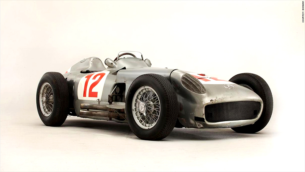 1954 Mercedes-Benz W196 - Most expensive cars ever sold at auction ...