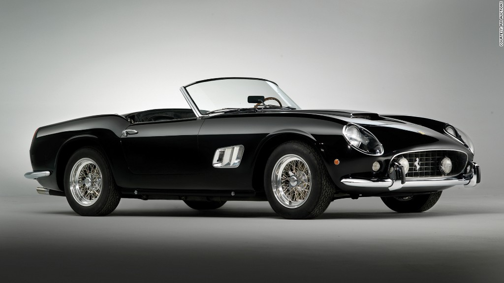 1961 Ferrari 250 Gt California Spyder Most Expensive Cars Ever