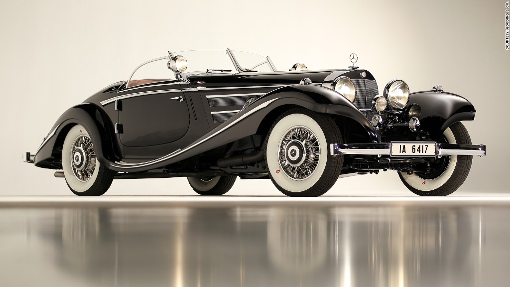 1936 Mercedes Benz 540k Special Roadster Most Expensive Cars Ever