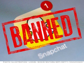 banned china snapchat