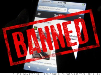 banned china websites