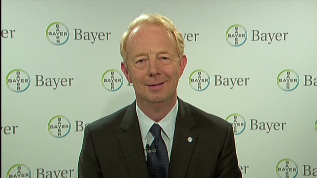 Bayer CEO: Merck deal too good to pass up