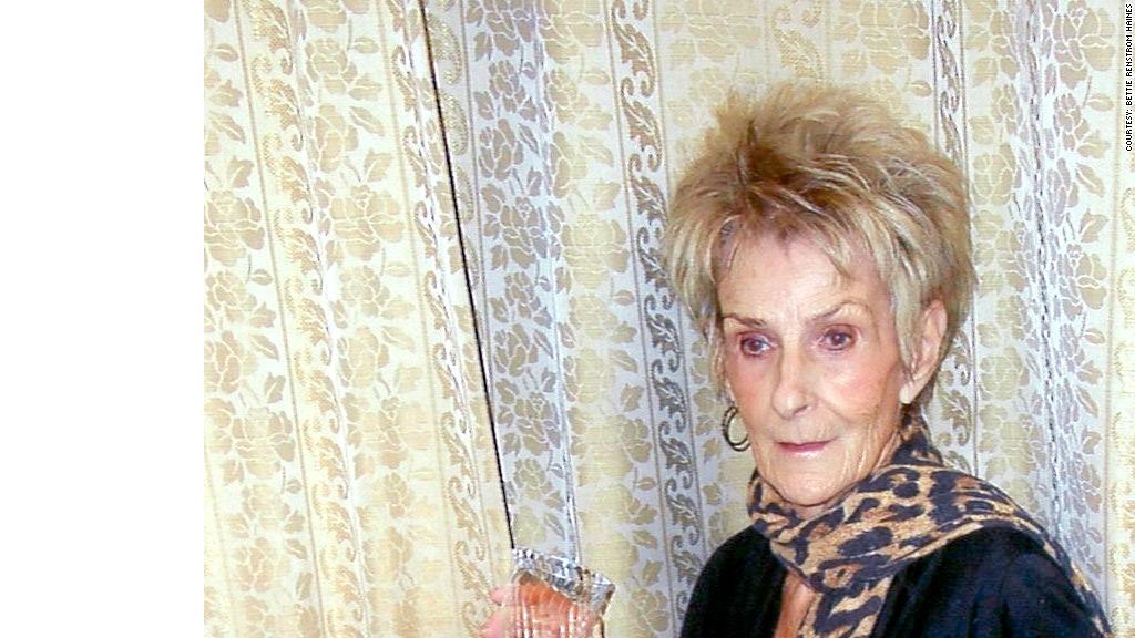 retired women bettie haines