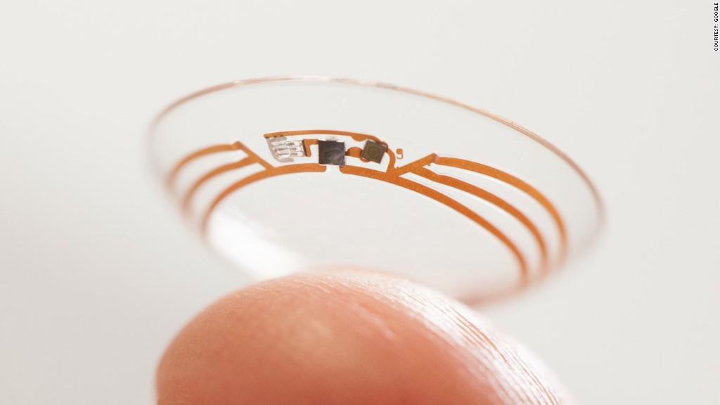 health tech smart contact lense