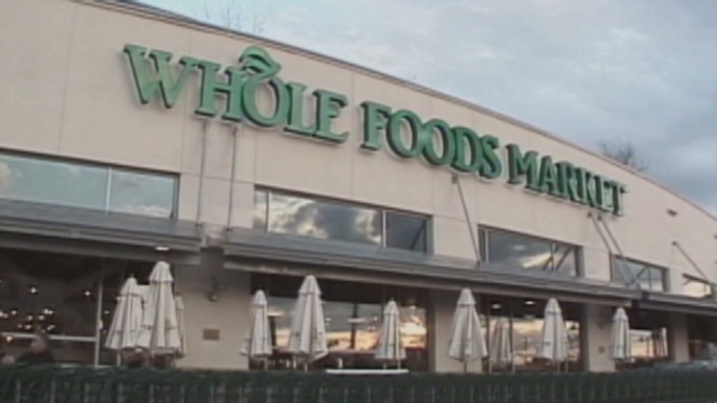 No 'organic' growth for Whole Foods
