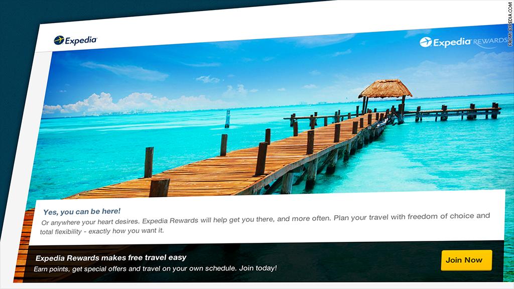 travel rewards expedia