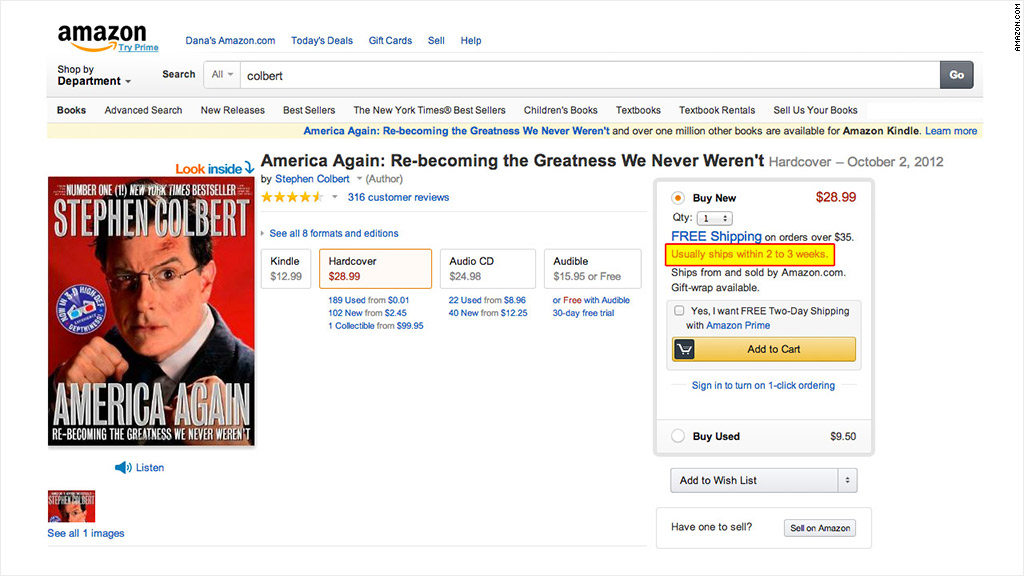 colbert amazon hachette