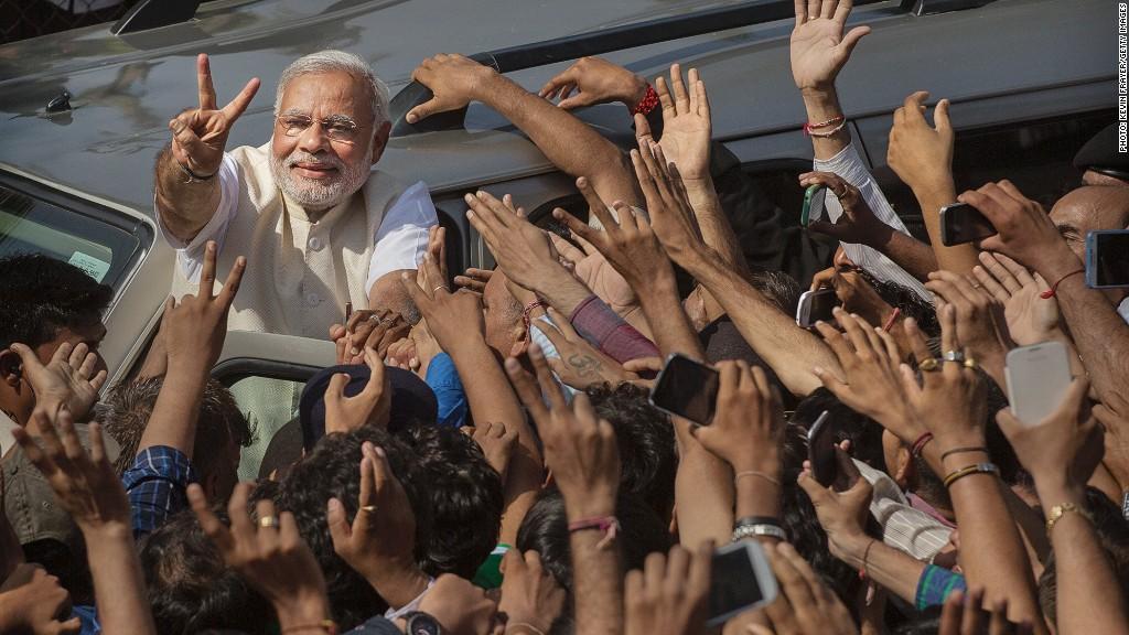 india modi election