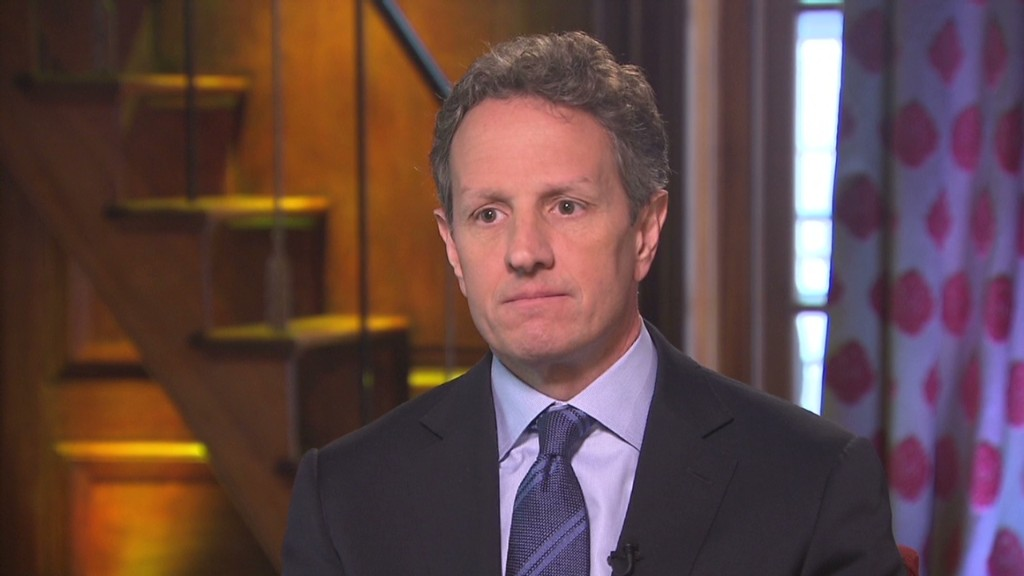 Tim Geithner responds to critics