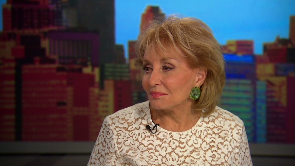 Barbara Walters on her 'blessed career'