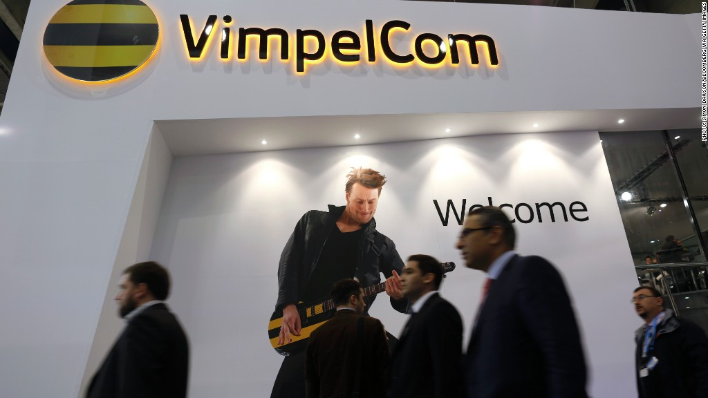 vimpelcom​ hedge fund ownership