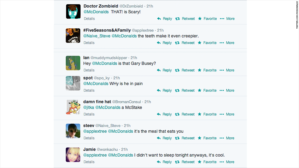 mcdonalds tweets