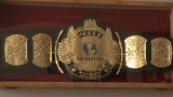 The champion of championship belt making