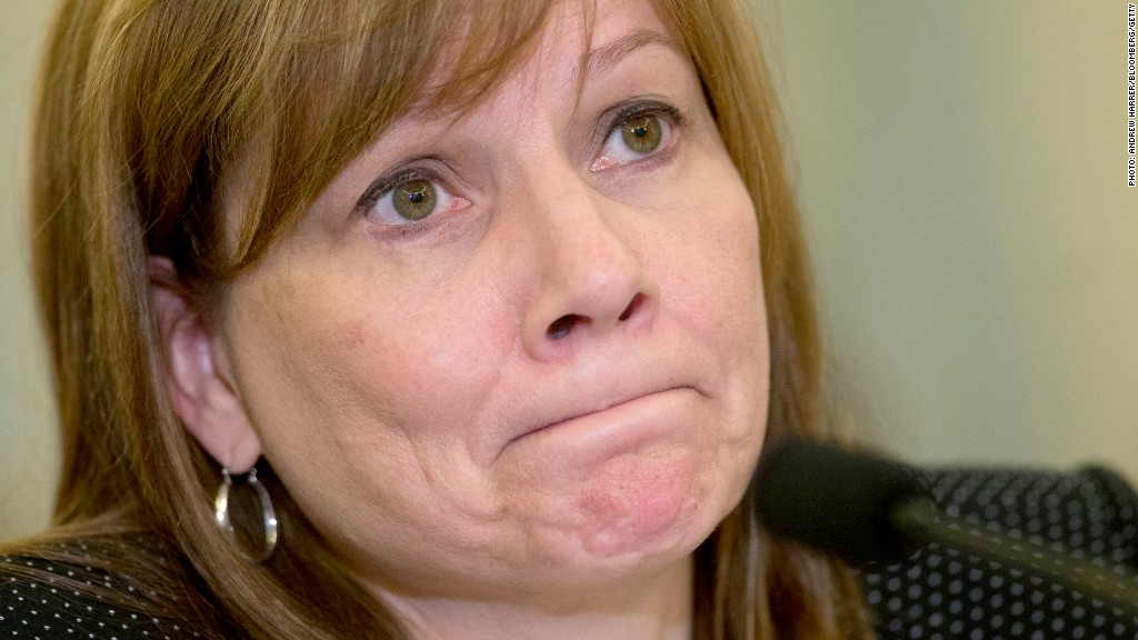 mary barra lawmakers