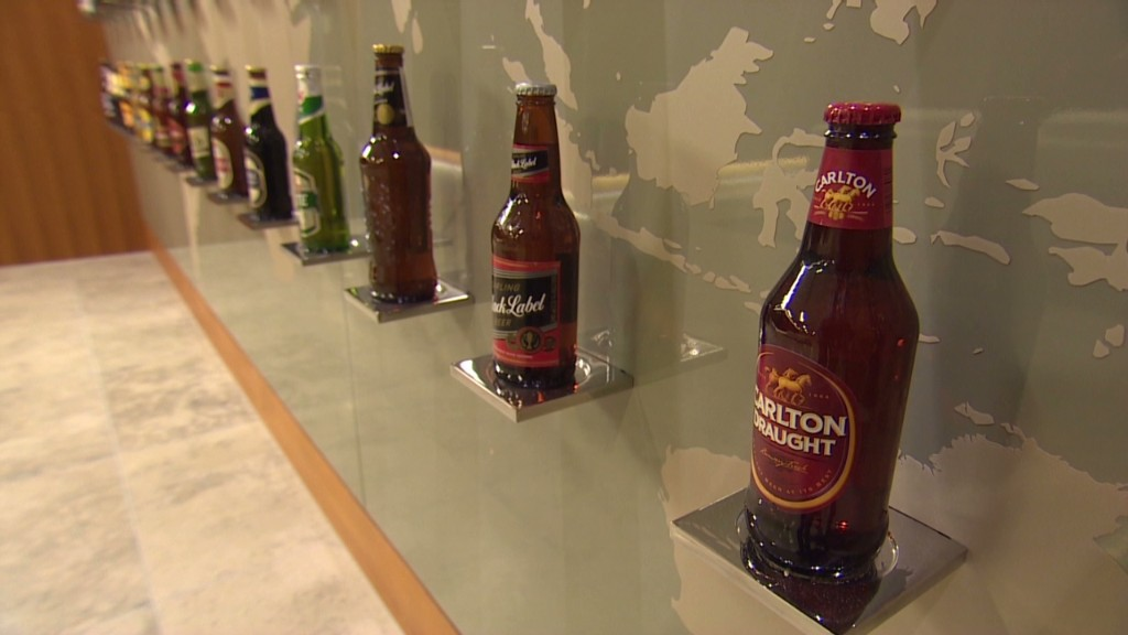 Beer CEO: U.S., Europe are tough markets