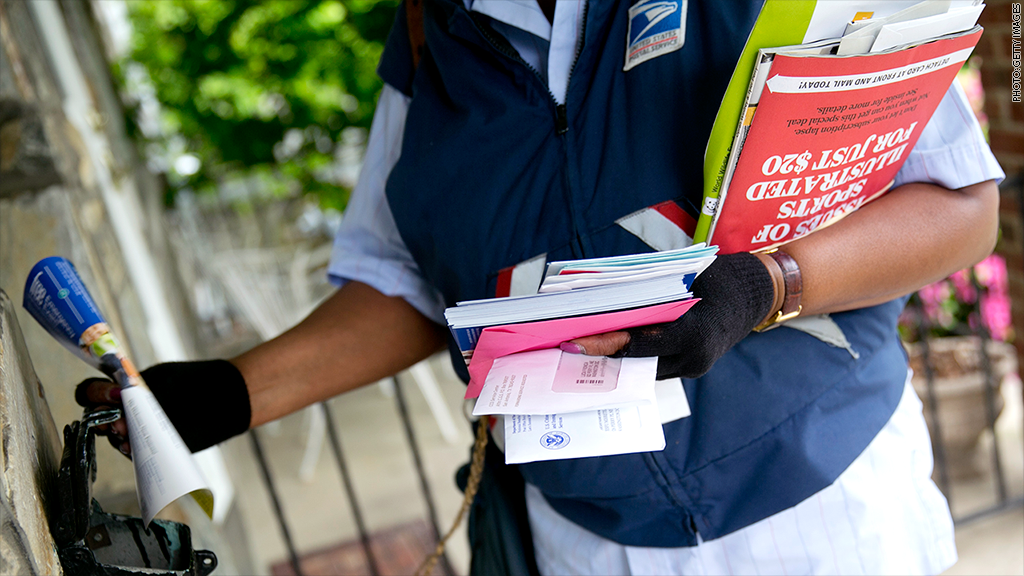 usps house delivery & Mail delivery to your door could end