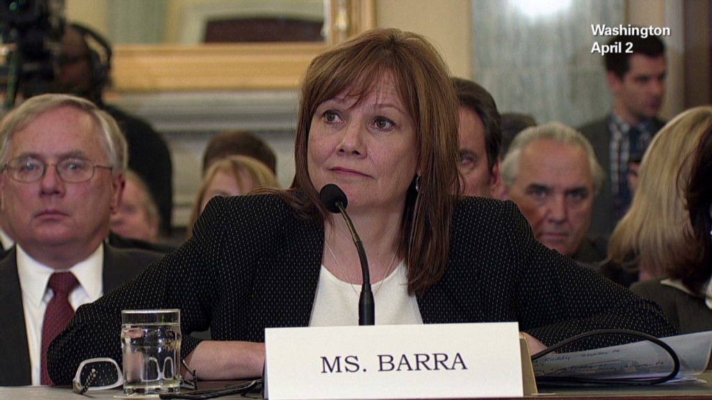 Mary Barra's bumpy ride as GM CEO