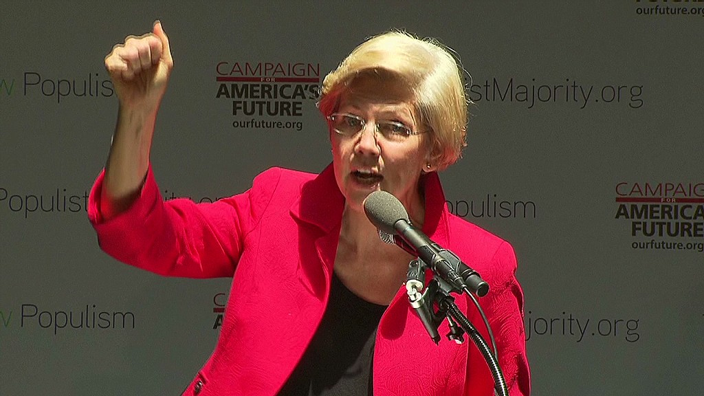Elizabeth Warren: 'The game is rigged'