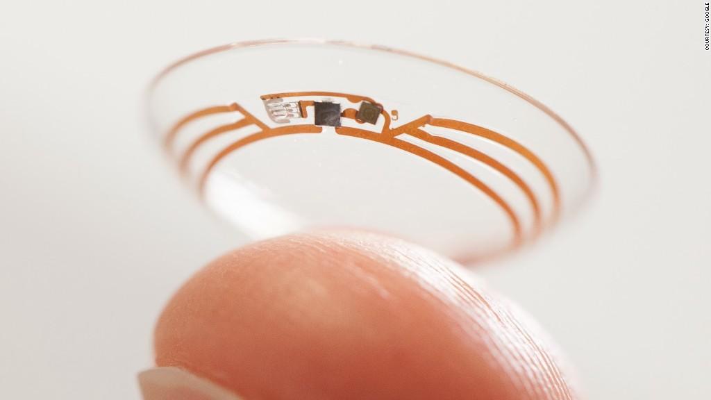 google gadgets contact lens