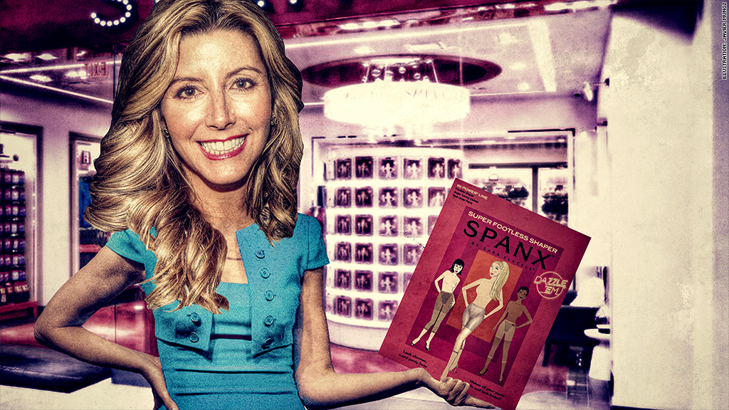 broke to billionaire sara blakely