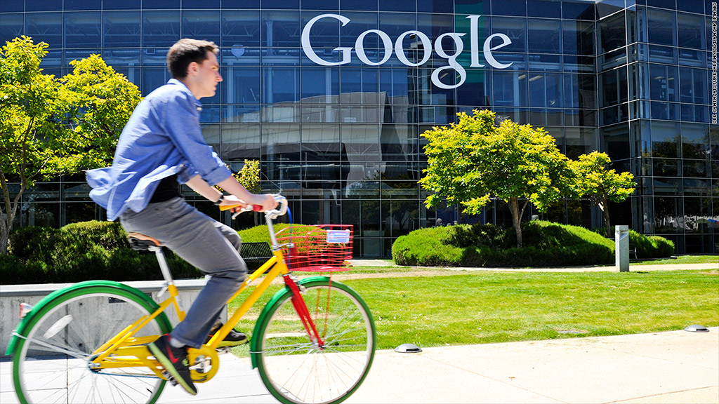 google employees bike