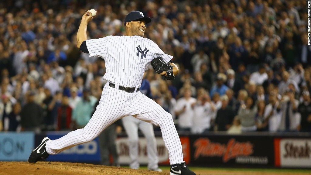 mariano rivera pitching