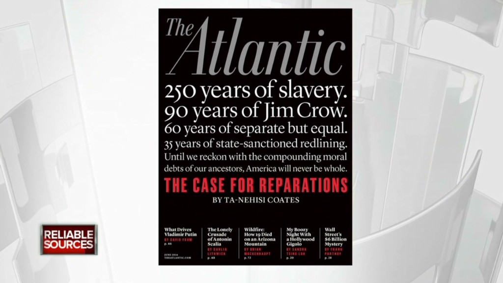 Atlantic sold reparations story like a movie