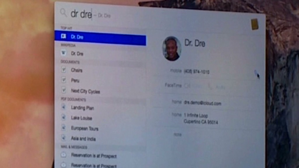 Apple calls its new employee -- Dr. Dre