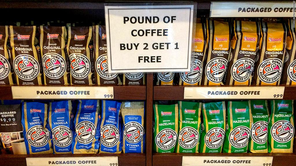 dunkin donuts coffee sale
