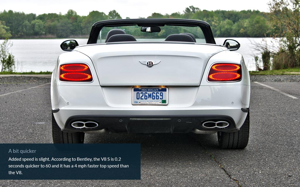 No slide name set - Bentley\'s V8 convertible, now with turbochargers ...