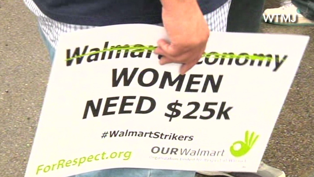 Walmart protests from coast to coast